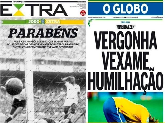 Extra (Brasil) e O Globo (Brasil).