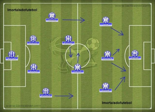 Mesmo sem Djalminha e Makaay, o Deportivo manteve-se competitivo com ótimas peças de reposição.
