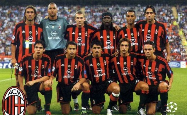 Esquadrão Imortal – Milan 2002-2005