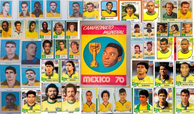Todos os Convocados do Brasil nas Copas