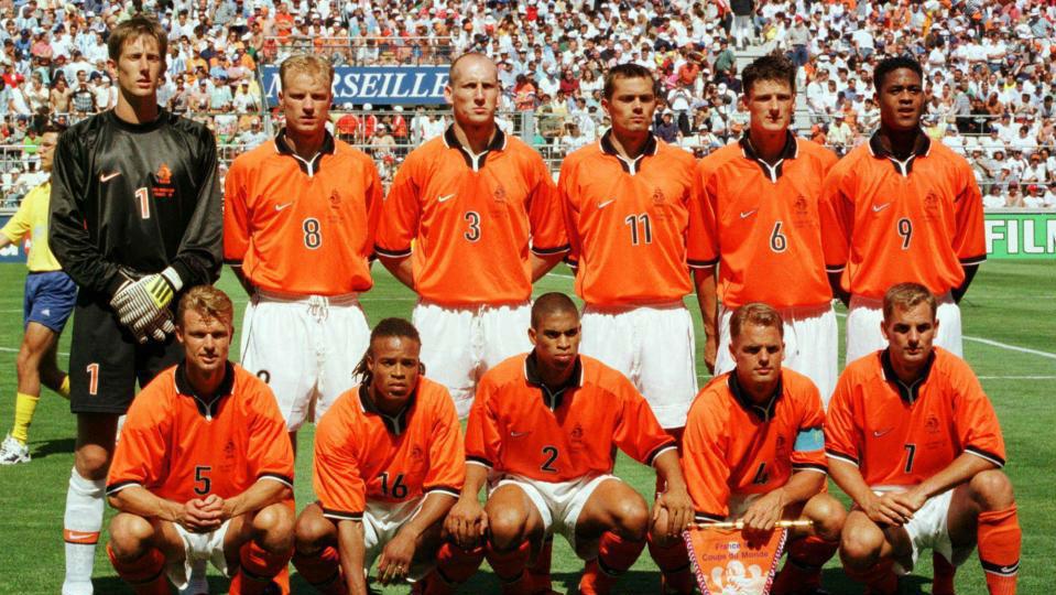 af5ed11fce Seleções Imortais - Holanda 1998-2000 - Imortais do Futebol