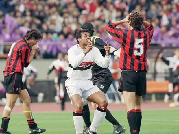 Jogos Eternos – São Paulo 3×2 Milan 1993