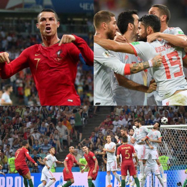 Jogos Eternos – Portugal 3×3 Espanha 2018