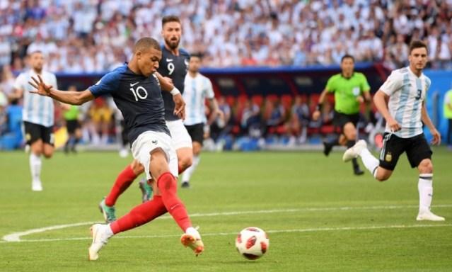 Jogos Eternos – França 4×3 Argentina 2018
