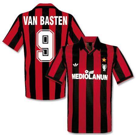 Historia Da Camisa Do Milan Imortais Do Futebol