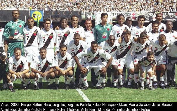 Esquadrão Imortal Vasco 2000 Imortais Do Futebol
