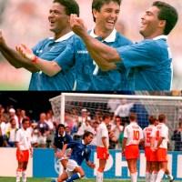 Jogos Eternos - Brasil 3x2 Holanda 1994