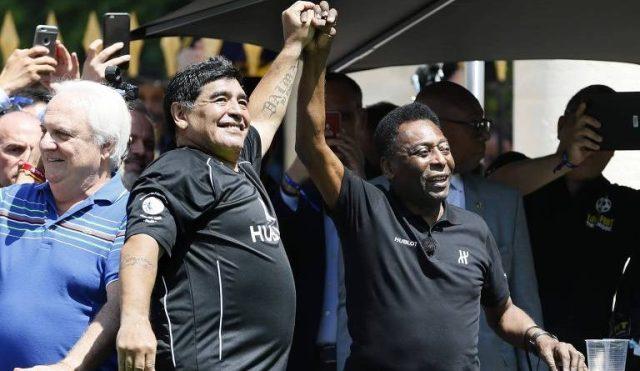 Verdade ou Mito? Como nasceu a rivalidade entre Maradona e Pelé