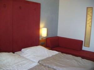 サンタクロースホテルの部屋