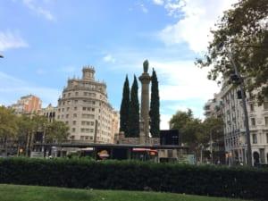 バロセロナ風景