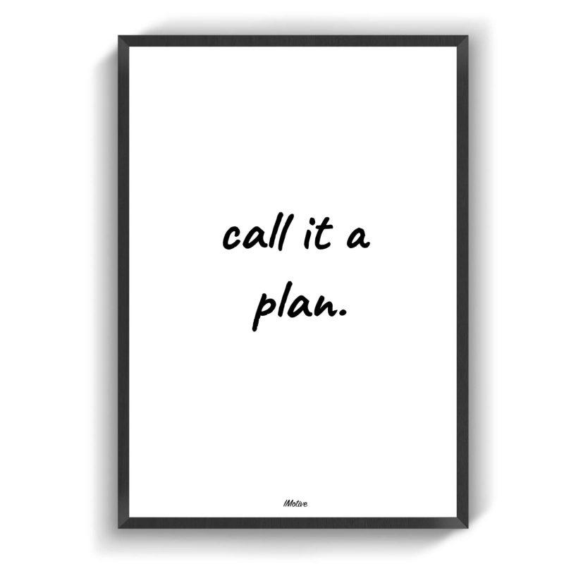 A plan plakat kontakt