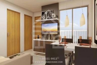Belleville Residence, apartamentos de 2 quartos, 42m² e 48m na Estrada de Ribamar. 18