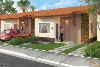 Condomínio Bianca, Casa de 2 quartos com espaço para ampliação, Maiobão. 11