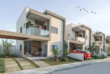 Condomínio Veleiros da Cohama, casa Duplex, 129m², 3 suítes, Cohama, São Luís MA 12