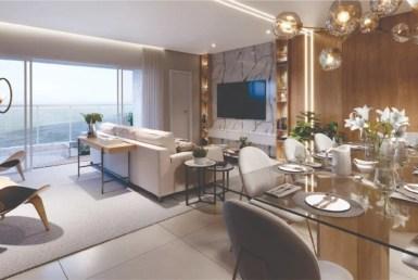 Residencial D'Algarve, apartamentos na Ponta D'areia, 4 suítes, 162m² a 169m², São Luís MA 4