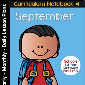 Sept Curriculum Notebook
