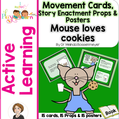 Mouse Loves Cookies Movement Cards