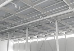 Contoh aplikasi atap uPVC warehouse