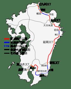 Higashi-kyushu_Expressway_map_2014-03_svg
