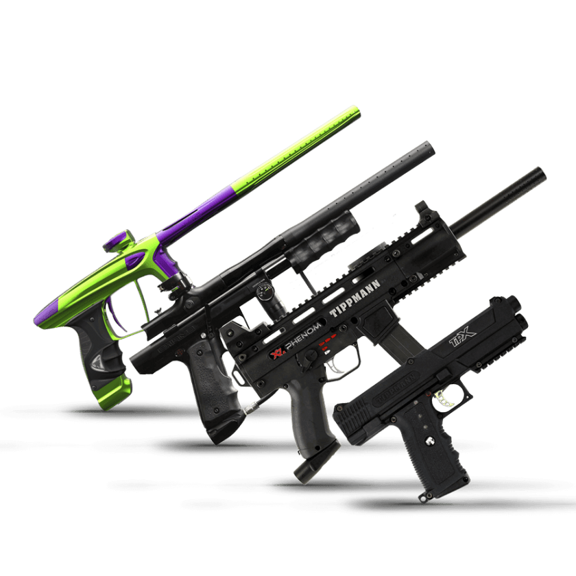 fusils de paintball