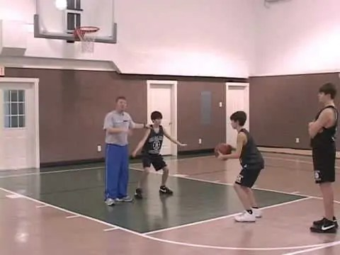 Youth Basketball Warmup Drills: Box Out Competition