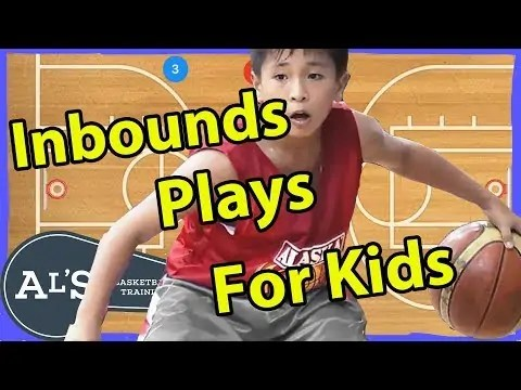 Basketball Inbounds Plays Playbook For Kids | Simple Inbounds Plays