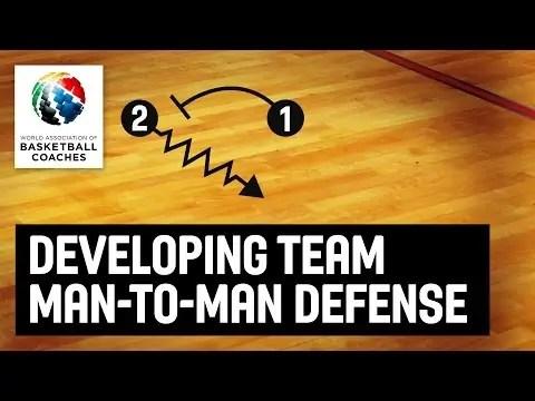 Developing Team Man-To-Man Defense – Dwayne Casey  – Basketball Fundamentals