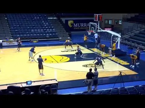 A Great Defensive Drill to Open Up Practice!   Basketball 2015 @53 HIGH