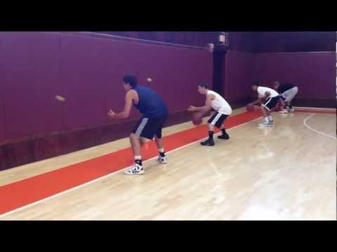 Wall Dribbling – Ball-Handling Coordination Drill