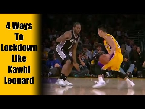 4 Defensive Strategies: Basketball Tips & Techniques | Kawhi Leonard Defense Man To Man
