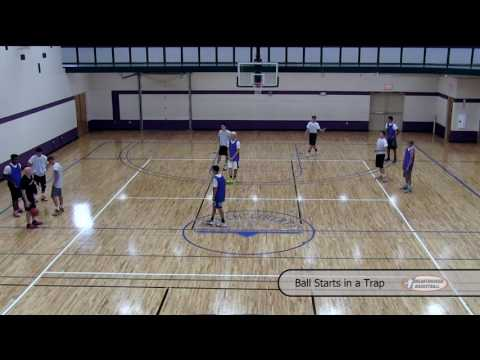 2 Motion Offense Drills To Improve Passing & Beat Trapping Zone Defenses