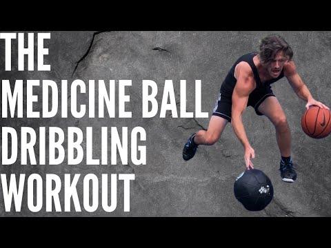 The Medicine Ball Dribbling Workout   Basketball Ball-Handling Drills