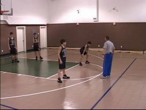 Zone Defense in Youth Basketball : Youth Basketball Zone Defense: 2-3 Zone