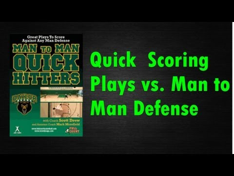 Best Set Plays for Basketball Against Man to Man Defense