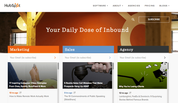 HubSpot Blog 1.png?t=1505932326404&width=789&name=HubSpot Blog 1 - 10 Examples of Business Blogs that Rock