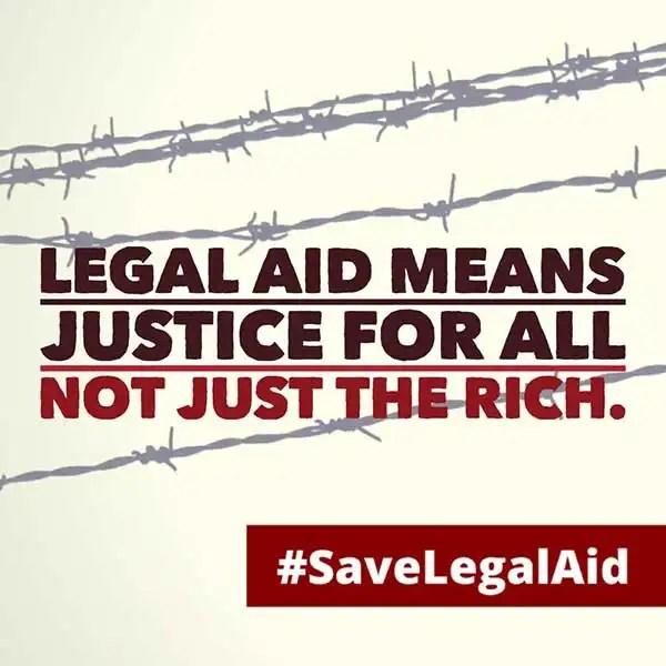 #SaveLegalAid