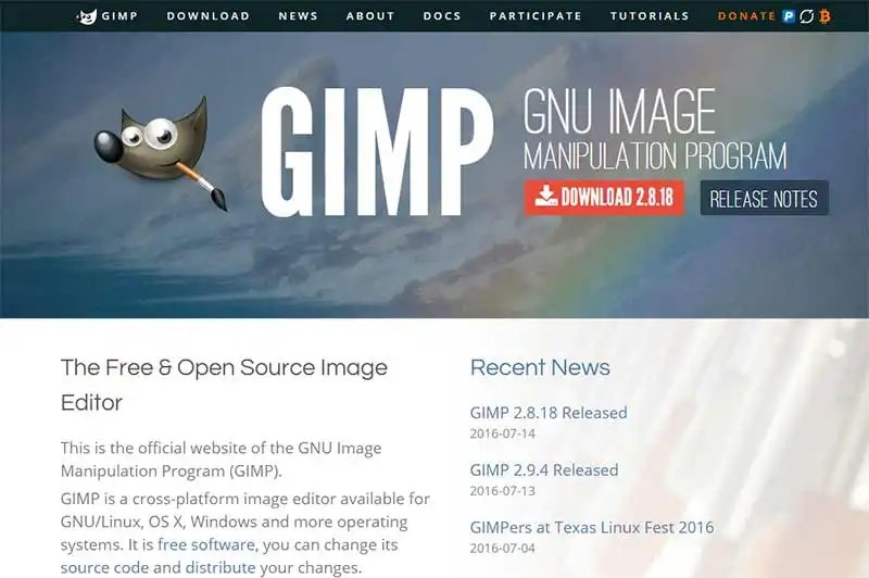 6 Blog Image Resources We Couldn't Live Without - GIMP
