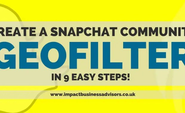 How to Create a Snapchat Community Geofilter