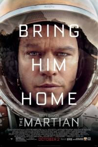 the martian matt damon ridley scott andy weir