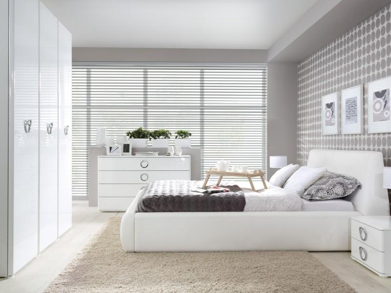 modern luxury bedroom furniture set 4 piece soft closing white white gloss roksana roksana bed set