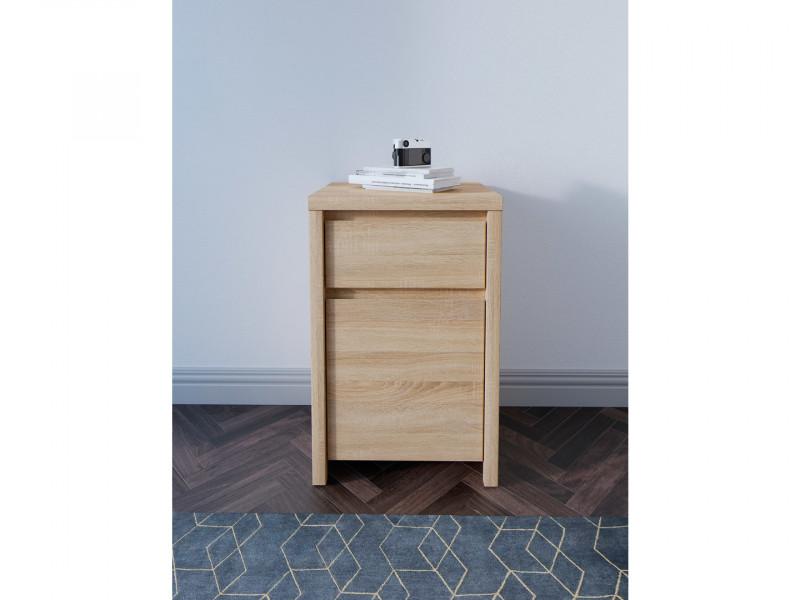 modern side cabinet small storage drawer unit sonoma oak kaspian s128 kom1d1sp dso dso kpl01