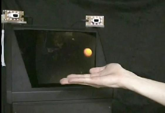 touchable hologram