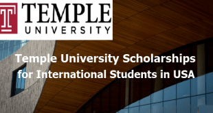 Temple University Scholarships for International Students in USA