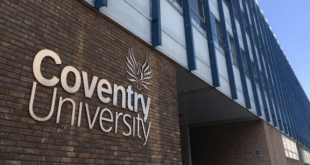 Coventry University EU Academic Excellence Award 2020/21