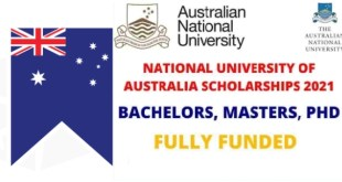 Fully Funded ANU Scholarships in Australia