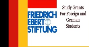 Friedrich Ebert Stiftung Scholarship in Germany 2021