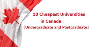 10 Cheapest Universities in Canada (Undergraduate and Postgraduate)