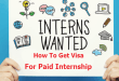 How To Get Visa For Paid Internship In The USA