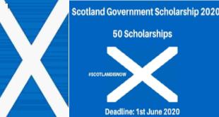 Scottish Government Scholarship 2021