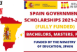 Spanish Government Scholarships for International Students